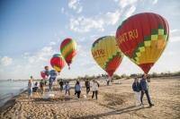 В Анапе на центральном пляже стартовал фестиваль воздушных шаров