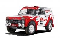 Гонщики из Швейцарии выступят в ралли Dakar-2022 на «Ниве» 1984 года выпуска