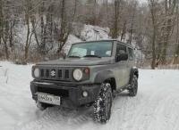 SUZUKI JIMNY: идеальное авто для эгоиста